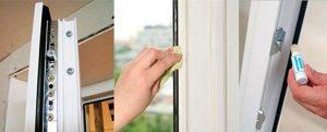 نگهداری و تمیز کاری پنجره های یو پی وی سی