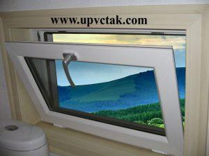 پنجره لولایی , پنجره یو پی وی سی کلنگی , پنجره دوجداره , پنجره یو پی وی سی